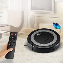 2018 Smart Robot Vacuum Cleaner For Home Remote Control Dust Cleaning Appliances 3 in 1 Cleaners Suction+Sweeper +Mop Aspirator(China)