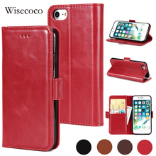 Buy iPhone 8 7 Luxury Filp Leather Wallet Case Wisecoco Card Slots Stand Phone Cases Cover Full Protector i8 i7 Fundas Coque for $3.49 in AliExpress store