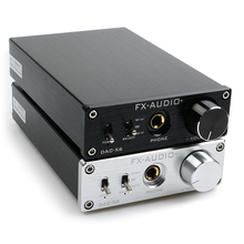 NEW FX-AUDIO DAC-X6 MINI HiFi 2.0 Digital Audio Decoder DAC Input USB/Coaxial/광 Output RCA/증폭기 24Bit/96 키로헤르쯔 DC12V(China)