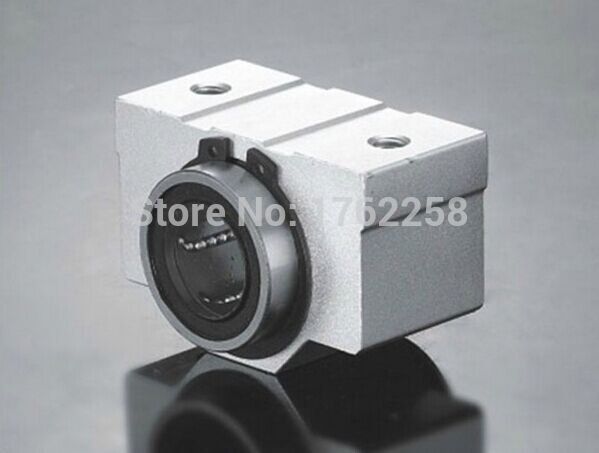 Free shipping SC12VUU SC12V SCV12UU SCV12 12mm linear bearing block DIY linear slide bearing units CNC router<br><br>Aliexpress