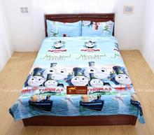 3D bedding sets queen size,thomas and friends trains bed sets,kids bedclothes,bed linens,duvet cover set with sheet#3D30-95