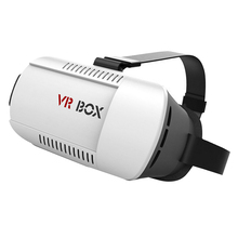 VR Box 1.0 3D Headset Cardboard Virtual Reality Goggles Glasses Original Google Cardboard VR Box For Android Iphone Smartphones