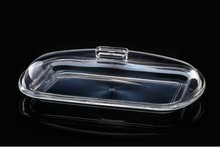 The new European-style kitchen classic tray w/cover,transparent acrylic candy dish dessert plates nuts  plate