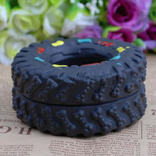 2PCS Dog And Dog Toy Tire Dog Vocalize The Pet Toy That Is Not Poisonous And Not Poisonous To The Rubber