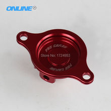 CNC ALUMINIUM OIL FILTER CAP COVER Fit HONDA CRF450R 2009-2016 motorcycle motorcross spare parts free shipping