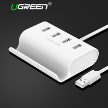 Ugreen USB HUB 4 Port High Speed USB 2.0 OTG Hub with Stand Power Interface Micro USB Splitter for Notebook Computer Laptop PC