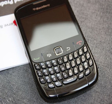 Original BlackBerry Curve 8520 mobile phone WIFI QWERTY Keyboard (black) cell phone Free Shipping(Hong Kong)