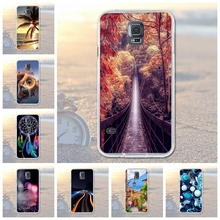Fundas Mobile Phone Bags Case Cover for Samsung Galaxy S5 SV I9600 Soft Slim TPU Animal Owl Dog Scenery Printed for Samsung S5