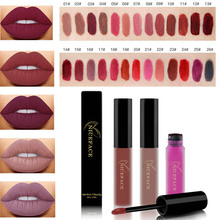 Makeup Matte Lipstick High Gloss Lip Make Up liquid lipstick Long Lasting Lip Gloss Nude Waterproof Lipsticks Korea Cosmetics
