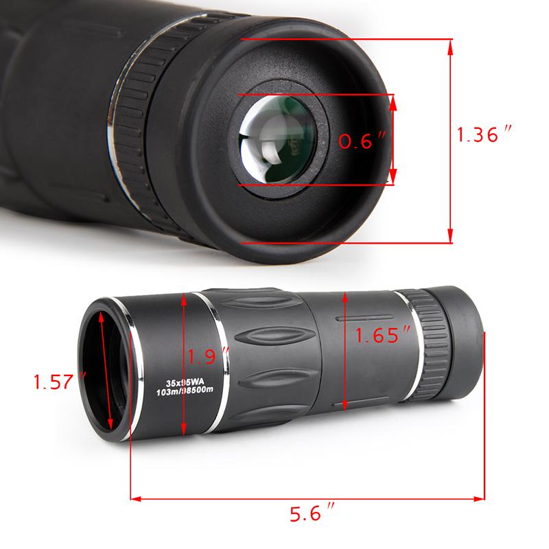 HD Monocular 35X95 10398500m High Power FMC Nitrogen Telescope for Hunting Travel Bird Watching Concert RL38-0009 (8)