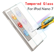Ultra Thin 0.3mm 2.5D Tempered Glass Premium Screen Protector For Apple iPod Nano 7 nano7 Protective Film High Quality Wholesale