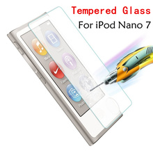 Ultra Thin 0.3mm 2.5D Tempered Glass Premium Screen Protector For Apple iPod Nano 7 nano7 Protective Film High Quality Wholesale(China)
