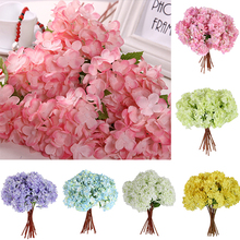 1 Bouquet Artificial Craft Hydrangea Party Wedding Bridal Plastic Flower Decor  8SZM
