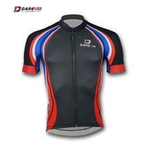 Darevie carbon design serial design heat transfer printing bicycle jersey