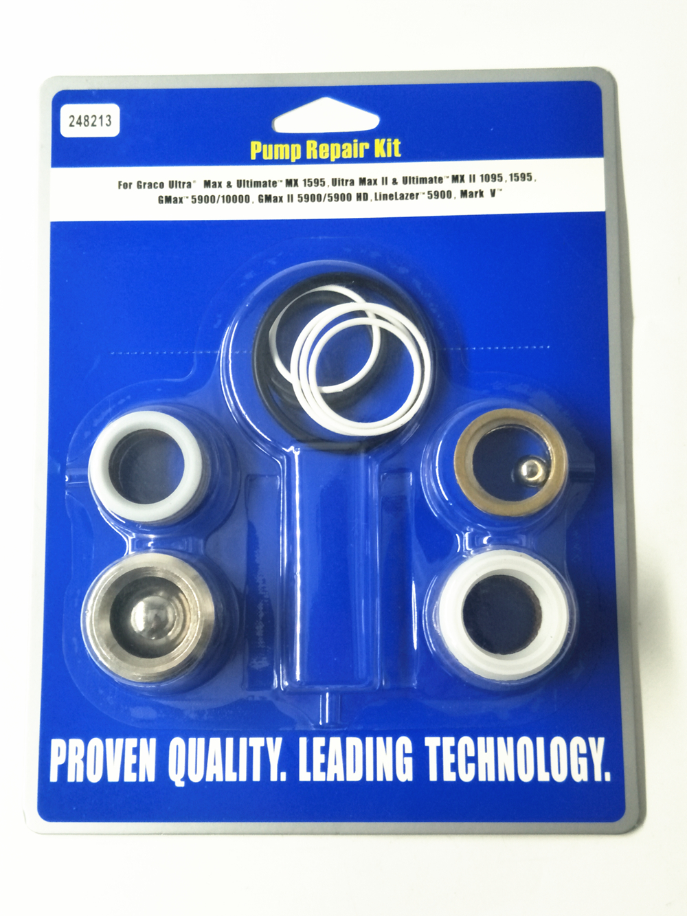 NEW Aftermarket Pump Repair Packing Kit 248213 For Graco Sprayer 1095 1595 5900<br>