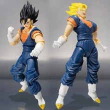 NEW hot 17cm 1pcs Dragon ball Super saiyan 3 Vegetto Vegeta Action figure toys doll collection Christmas gift with box sy866