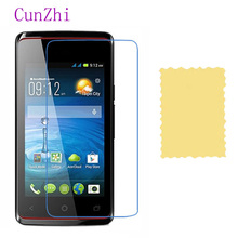 cunzhi 3 PCS Protector Film For Acer Liquid Z200 High-definition LCD Screen Protective Film(China)