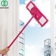 WHISM Washable Mop Heads Chenille Flat Mop Pad Floor Dust Mops Replacement Super Absorbent Cleaner Mat Household Cleaning Tools(China)