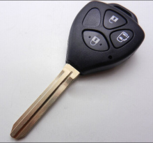 Remote Key Shell For Hongkong Taiwan Toyota Camry 3 Buttons  FOB Key Blanks Case (band open a door button)