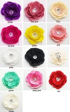 30 Pieces Fashion Women Flower Hair Clip Brooches Bridal Hawaii Party Girl Hairwear Jewelry Mixed Color