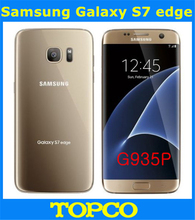 "Samsung Galaxy S7 Edge G935P Sprint Original Unlocked Android LTE Mobile Phone Octa Core 5.5"" 12MP RAM 4GB ROM 32GB WIFI GPS(China)"