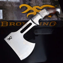 Browning Outdoor Survival Camping High Carbon Steel AXE Hunting Camping Fire Axe Hacha Tool Mountain-cutting Hatchet