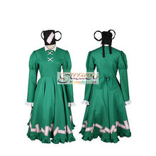 DJ DESIGN Touhou Project Ten Desires Soga no Toziko Uniform COS Clothing Cosplay Costume(China)