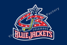 Columbus Blue Jackets Flag NHL National Hockey League 3ft X 5ft Polyester Banner Flying 150* 90cm Custom Flag Sport Helmet CBJ2