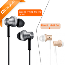 Original Xiaomi Hybrid Pro HD / Hybrid Pro Earphones with Mic Voice Control Triple Driver Xiaomi Mi In-Ear Headphones Pro HD