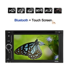 "6.2"" Double Din DVD player GPS Navigation Universal Screen Touch HD Car Stereo DVD/USB/SD Player Bluetooth Radio Entertainment(China)"