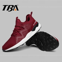 TBA Men's Sport Shoes Air Mesh Breathable Winter Sneakers Men Soft Rubber Sole Male Running Shoes Top Lace Tenni Men's Sneakers