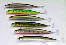 1pcs/pack Big Game minnow 13CM 20G fishing lures plastic hard bait pesca fish wobbler artificial lure swimbait long casting bait