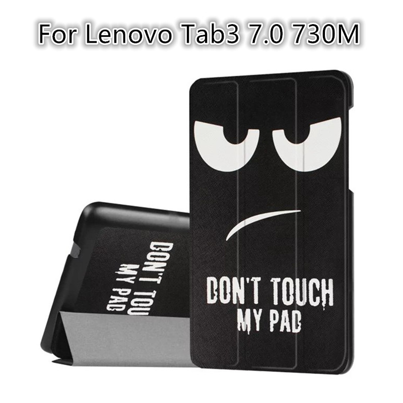 For Lenovo Tab3 7.0 730M Colorful print Leather Case Flip cover Ultra Thin Case cover for Lenovo Tab 3 730M 7.0 protective stand<br><br>Aliexpress