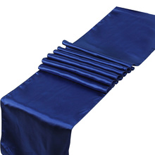 "21 Colors Satin Table Runners 12"" x 108"" /30cm x 275cm For Wedding Party Home Decorations"