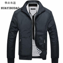 HUAYIBUDAO Spring and Autumn jacket men bomber jacket Overcoat Casual Fashion Thin section Coat men brand clothing M-5XL