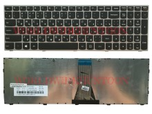 Reboto Original Russian Laptop Keyboard for Lenovo G50-70 B50-30 G50-30 G50-45 B50-45 B50-70 RU Layout silver color 100% Tested