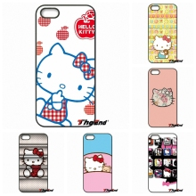 Fashion Hello Kitty Minnie Cartoon Cat Phone Cover For Huawei Ascend P6 P7 P8 P9 P10 Lite Plus 2017 Honor 5C 6 4X 5X Mate 8 7 9(China)