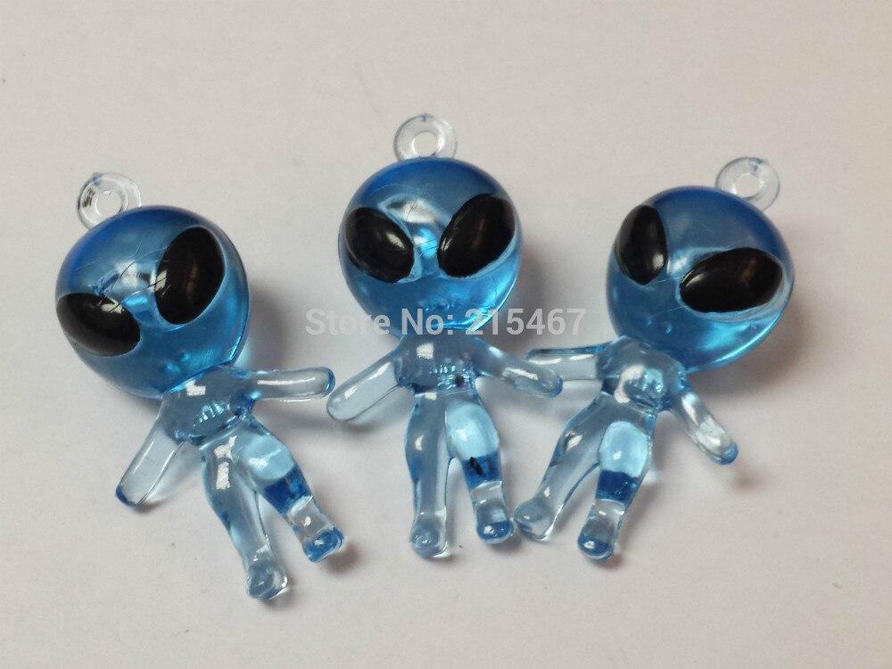 2 pc Glow in Dark Alien Ring Gem eye Party Favor Novelty souvenirs giveaways