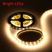 LED Strip SMD3528 300leds 5M DC12V led Flexible Strip cabinet Light lights non-waterproof novelty households easter decoration(China)