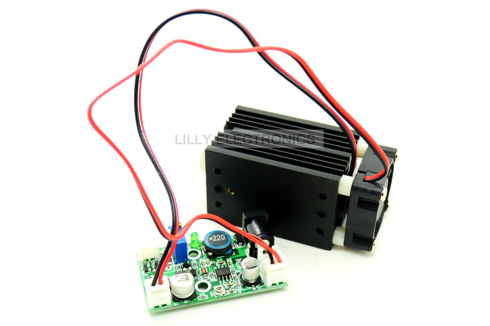 405nm 50mw focusable Dot laser module 12V TTL +long time working<br><br>Aliexpress