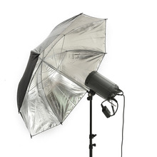 "40"" 102cm Photo Studio Flash Light Black Silver Umbrella Reflective Reflector Wholesale Softbox Umbrella Photo Studio Accessorie"
