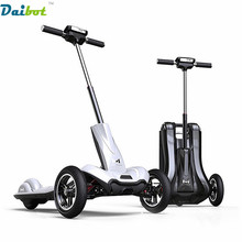2017 New Arrive MERCANE M1 10 inches Foldable Electric Scooter hoverboard Folding Three Wheels Electric Skateboard Bicycle Bike(China)