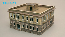 Out of print product! ITALERI 1/72 2 STORY BERLIN HOUSE UNASSEMBLED PLASTIC MODEL KIT BRAND NEW 6086(China)