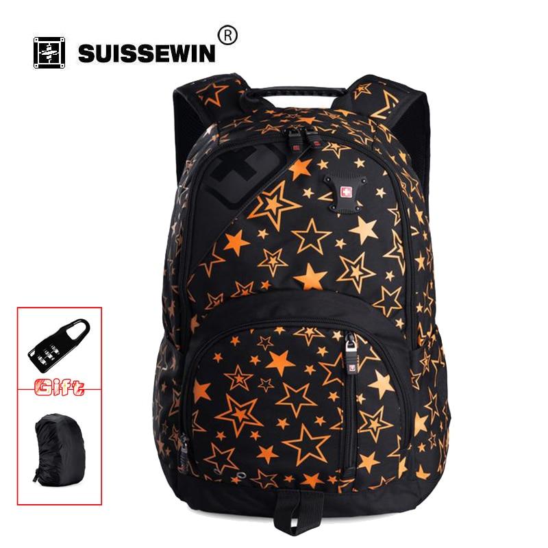 Brand Fashion Backpack Women Japan Korean Style School Backpack For Teenage Girls Lightweight Star Schoolbag Bookbag SWB028<br>