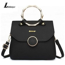 Women Pu Leather Handbags Elegant Shoulder Bags For Ladies Bolsos Mujer Charming Messenger Bags Female All-match Tote Bags