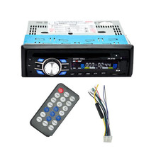 New Arrival Hot Single Din Car Bluetooth DVD CD Player Vehicle MP3 Stereo Radio 170920(China)
