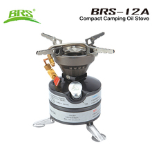BRS brs-12A Outdoor Camping Stove Military Army Tactical Portable Gasoline Diesel Kerosene Camp Oil Stove(China)