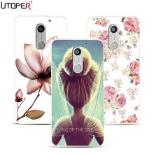 Case Umi Super 5.5 inch Floral Elsa Space Transparent Cover Coque Max Hard Plastic Flower Back Fundas - Shenzhen MOMD Technology Co., Ltd. store