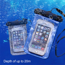 Universal Waterproof Mobile Phone Case Fashion Waterproof Bag for iPhone 6 6s plus 7 5c 5s for Samsung galaxy s7 s6 s5 s4 xiaomi(China)