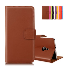 Cow Split Leather Cover For Microsoft NOKIA Lumia 925 Wallet Bags Magnetic Card Slot Stand Hard Plastic Phone Cases